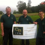 Pete Dave and Craig 1st tee at Rushmore